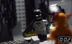 """Overtime.."" (Matthew Candey) Tags: lego batman reverse flash fight dc rebirth button super heroes villains comics"