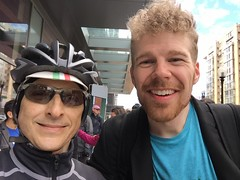 Selfie with Robb (Mr.TinDC) Tags: selfie me ted mrtindc friends cyclists people robb