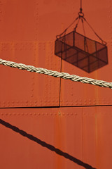 Rope and Cage (BlueChasmPhoto) Tags: duluth mn lakesuperior