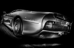 XJ220 (Dave GRR) Tags: jaguar xj220 racingcar supercar hypercar exotic car vehicle motorsport racing monochrome mono chrome black white bw olympus