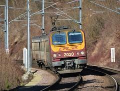 Pfaffenthal-Kirchberg 15.02.2019 (The STB) Tags: luxembourg luxembourgrailways lëtzebuerg railway train chemindefer zug eisenbahn eisebunn