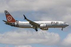 DQ-FAB (PlanePixNase) Tags: boeing 7378 max b737max fiji auckland akl nzaa airport aircraft planespotting b38m