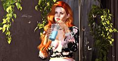 #296 (dolceluna_myoo Photographer) Tags: moncada paris woman spring juice green moncadaparis rama red sl secondlife