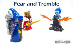 Fear and Tremble (WhiteFang (Eurobricks)) Tags: lego minifigures cmfs collectable walt disney mickey characters licensed design personality animated animation movies blockbuster cartoon fiction story fairytale series magic magical theme park medieval stories soundtrack vault franchise review ancient god mythical town city costume space