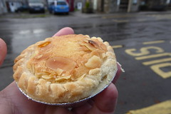 A Bakewell Pudding from Bloomers of Bakewell (Bods) Tags: walk bloomersofbakewell peakdistrict derbyshiredales tideswell bakewellpudding derbyshire whitetodarkday1 bakewelltolittonwalk peakdistrictnationalpark whitetodark