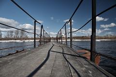 Winter crossing (Staropramen1969) Tags: crossing bridge canal water passage pont eau überquerung brücke kanal wasser