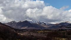 Newtonmore scenery (DiamondDave944) Tags: ifttt 500px snowcapped mountain range sky scotland newtonmore glen road highlands canon eos 77d