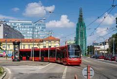 Bratislava tramway: Škoda 30T # 7502 (Amir Nurgaliyev) Tags: škoda30t bratislavatramway dpb