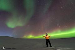 Aurore boréale à Mequillon (dodo-12-37) Tags: aurore boréale camp expo nunavik nickel canadian royalties inc québec ciel voie lactée