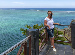 Maconde View Point / Обзорная площадка Маконде (dmilokt) Tags: природа nature пейзаж landscape небо облако sky cloud palm tree море океан sea ocean скала камень rock dmilokt