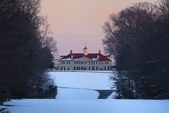 West Gate Landscape (Rob Shenk) Tags: mountvernon snow virginia winter fxva mansion colonial georgewashington january landscape