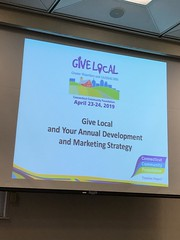 Training for Nonprofit Leaders: Give Local Marketing (2018)