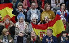 Фигурное катание. Чемпионат Европы по фигурному катанию (Sport24.ru) Tags: sport спорт кокошник флаги сборнаяиспании сборнаяроссии испания россия