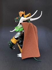 N. A. Konda 3 (Ballom Nom Nom) Tags: bionicle lego herofactory ccbs toy model moc ballomnomnom reptile reptilian monarch king lizard snake crown gold green animal