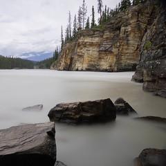 Ruhe und Stille (markusgeisse) Tags: canada athabasca falls landschaft