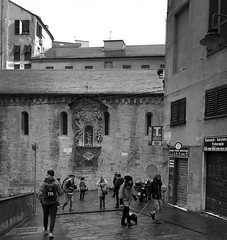 """Walking On Sunday Morning"" (giannipaoloziliani) Tags: photooftheday photography liguria lightandshadow italy monocromatico urbanexplorer urbanstreet architettura architecture downtown city nikoncamera nikonphotography monochrome nikon streetphotography people blackandwhite biancoenero art genova genoa walking"