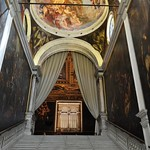 Escalier d'apparat (XVIe), Scuola Grande di San Rocco, sestiere de San Polo, Venise, Vénétie, Italie thumbnail