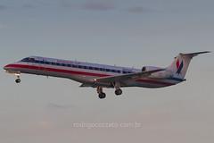 N809AE (rcspotting) Tags: n809ae embraer erj145 american eagle envoy mia kmia