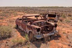 FE Holden and an FC Holden in the back ground (Colt_2001) Tags: fe fc holden car cars abandoned rust rusted rusting decay rural derelict life landscape photography sony rx10 cardross lakes sunraysia red cliffs victoria australia gmh australian desert