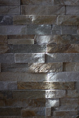 A Crack of Light (47/365) (lacygentlywaftingcurtains) Tags: 365 light stone wall texture geometric rectangles natural sunlight daylight