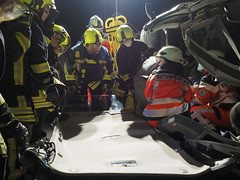 EMS and fireservice (Paramedix) Tags: feuerwehr fireservice ems rettungsdienst oberndorf germany deutschland badenwürttemberg medics unfall accident übung exercise