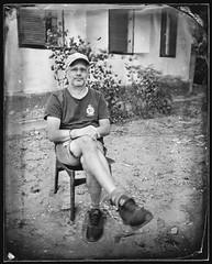 Lali (Attila Pasek (Albums!)) Tags: bugacikontaktfotográfiaitábor glass portrait photographer ambrotype sinarf1 camera rodenstock150mmf56 lajosgombos 4x5 collodion