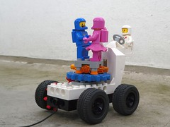 Valentine's Rover - Febrovery 2019 24 (captain_j03) Tags: toy spielzeug 365toyproject lego minifigure minifig moc febrovery space rover car auto