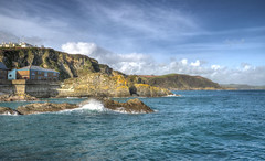 Cornish coast at Mevagissey (Baz Richardson) Tags: cornwall mevagissey coast cliffs