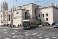 Lisboa (Jan Dreesen) Tags: lisboa lissabon lisbonne lisbon portugal transport carris tram tramway streetcar trolley electrico line 15 belem mosteiro jéronimos monastery