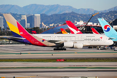 Asiana Airbus A380-861 HL7626 (Mark Harris photography) Tags: spotting lax la canon 5d airbus a380