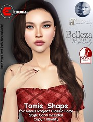 Tomie Shape For G.Project Classic Face (Ethereal by Marzia Farrasco) Tags: shape genusproject bento event ebento secondlife