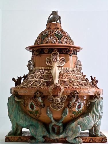 """""""Arab"""" perfumer equipment (1896) - Rafael Bordalo Pinheiro (1846 - 1905)"""