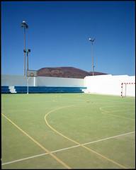 La Graciosa, Lanzarote (AntoineLegond) Tags: lanzarote lagraciosa landscape stadium volcano mamiya7ii 65mm kodak portra film analogue spain canaryislands
