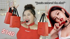 JENNIE BLACKPINK HERA RED VIBE COLLABORATION REVIEW FIRST IMPRESSION (heyitsfeiii) Tags: with kpop idols challenge fun singing dancing korean artist james charles heyitsfeiii sister apparel try haul review first impression jennie blackpink black pink hera red vibe collaboration makeup giveaway jessica jung blanc eclare skincare products how use trying real honest bts fried chicken coconut recipe follow along cold brew coffee