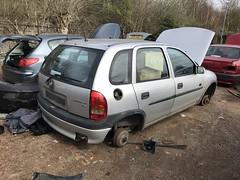 (Sam Tait) Tags: vauxhall corsa silver 5 door 12 1200 petrol 16v