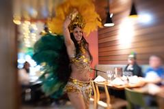Samba Dancer (djking) Tags: alberta dancer woman canada brazilian sambabrasilheritagedancegroup calgary minasbraziliansteakhouse