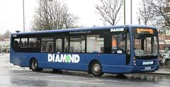 Rotala Diamond Bus North West 30506 BX58AOU working a 571 service. (Gobbiner) Tags: diamondbus b7rle centro diamondbusnorthwest bx58aou bolton plaxton 30506 rotala wessexconnect 819 volvo