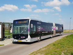 NLD Qbuzz 3462 - 5 (Roderik-D) Tags: 454681 qbuzz34483462 04bhr2 2016 mercedesbenz citaro3 o530g isri articulatedbus gelenkbus qlink ticketmachine cruisecontrol 3axle 3doors 3462 tersluis dieselbus wensink