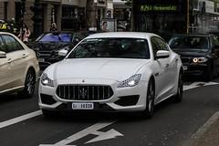 Italy Provisional (Monza) - Maserati Quattroporte S GranSport 2018 (PrincepsLS) Tags: italy italian provisional license plate l4 monza germany berlin spotting maserati quattroporte s gransport 2018