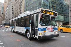 IMG_3823 (GojiMet86) Tags: mta nyc new york city bus buses 2006 orion vii genii hlf 6716 m2 5th avenue 42nd street