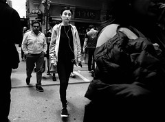 The Millennials (1/3) (meika_marshall) Tags: melboure australia blackwhite bw streetphotography fujifilm xt2 myer flinders station