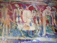Beram, Danse macabre (Vid Pogacnik) Tags: croatia hrvatska istra istria beram fresco church painting ancient dansemacabre