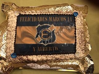 Cumpleaños 12 de Marcos Antonio. Pura emoción...