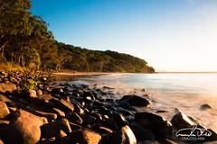Tea Tree Bay (Theo Crazzolara) Tags: noosa noosanationalpark nationalpark noosaheads nature natural coast sea ocean landscape scenic scenery australia queensland beach teatreebay bay sunset sunrise evening longexposure