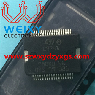 L9741 Commonly used vulnerable power supply driver chip for automotive ECU
