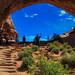 Arches National Park , Utah.