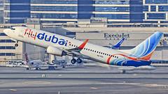 Fly Dubai Boeing B737-800 A6-FDL Dubai (DXB/OMDB) (Aiel) Tags: flydubai boeing b737 b737800 a6fdl dubai canon60d tamron70300vc