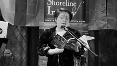 Event Horizon March 2019 08 (byronv2) Tags: woman author writer books reading literature literary sciencefiction stage portrait shorelineofinfinity eventhorizon edinburgh edimbourg scotland georgeivbridge frankensteins blackandwhite blackwhite bw monochrome