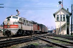 CB&Q F3 116D (Chuck Zeiler 48Q) Tags: cbq f3 116d burlington railroad emd locomotive mendotat train alchione chz