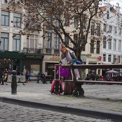 Pause (Spotmatix) Tags: 24mm 24mmf28 a68 belgium brussels camera lens minolta places primes sony street streetphotography
